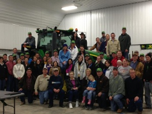 Leadership Iowa Farm Tour